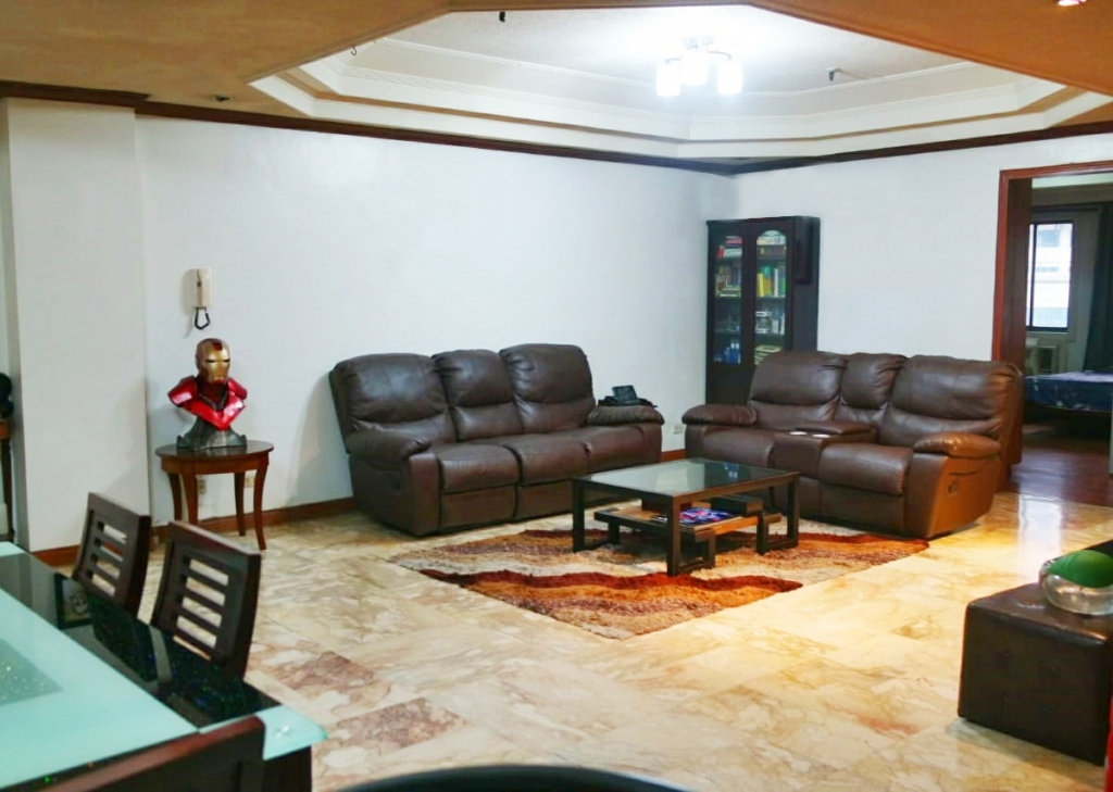 Heart Tower Salcedo Village 3BR Condo for Rent Fully Furnished