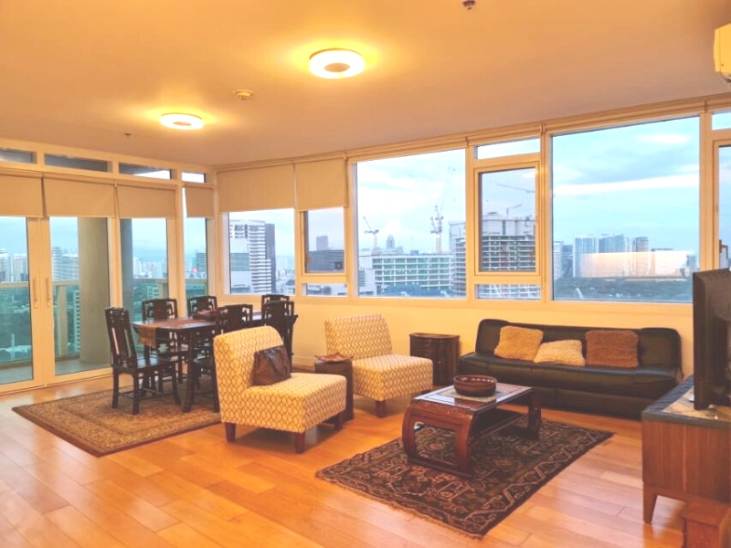 apartments & condos for rent in Park Terraces, Makati available for long term